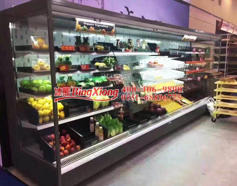 冰熊冷柜,风幕柜质量,水果展示柜